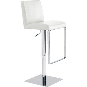 Matteo Adjustable Height Swivel Bar Stool..
