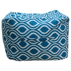 Premiere Home Nicole Aquarius Ottoman by Fox Hill Trading