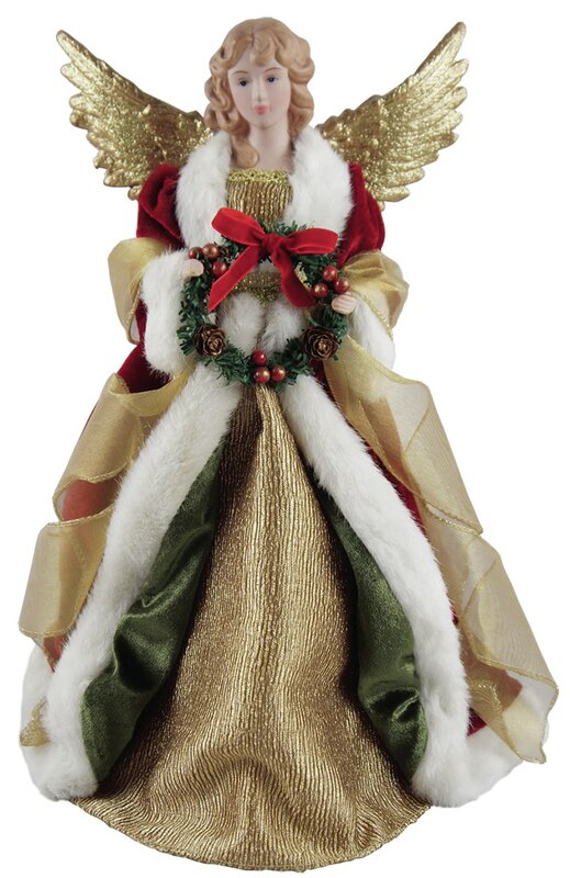 christmas angel tree topper - Christmas Angel Tree Topper