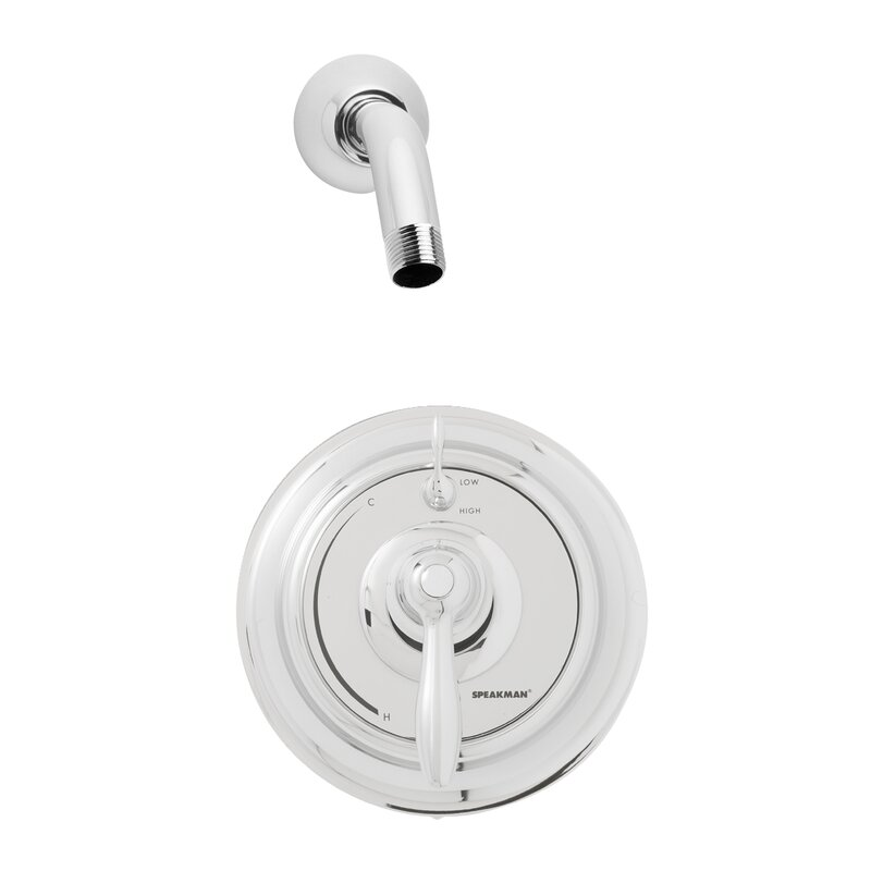 Speakman SentinelPro Thermostatic Shower Faucet with Valve and Trim ...