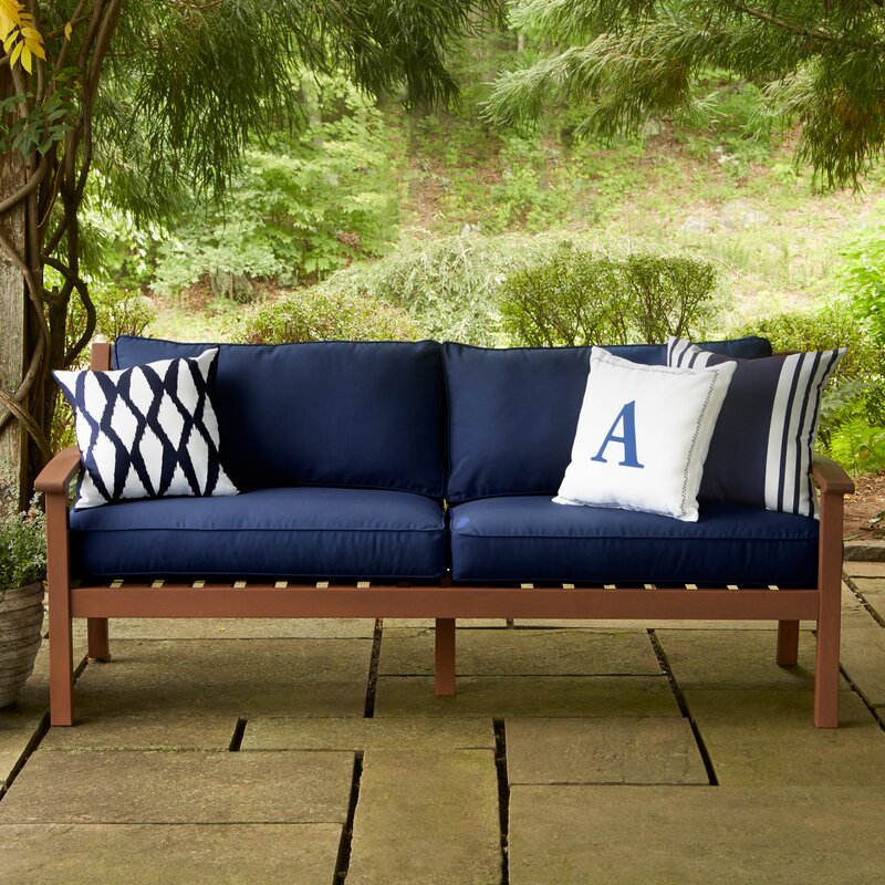 Rossi Patio Sofa With Cushions