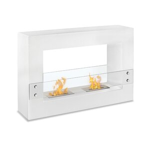Tectum Freestanding Ventless Ethanol Fireplace by Ignis Products