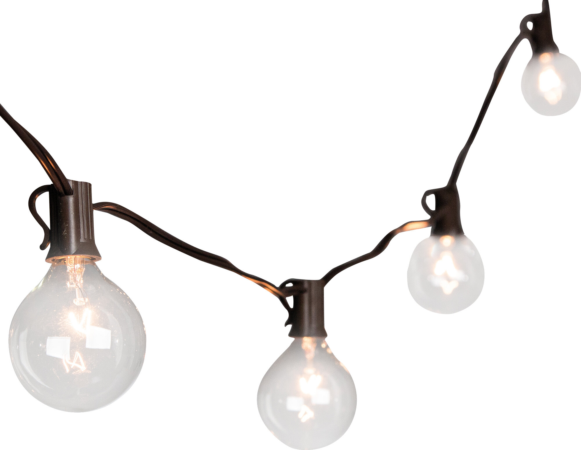 The Gerson Companies 20-Light 19 ft. Globe String Lights & Reviews ...