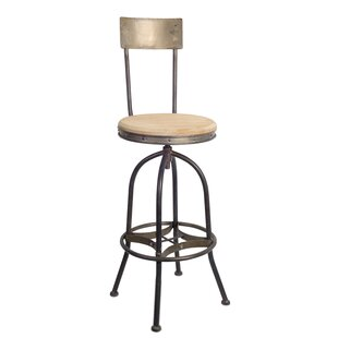 Harless Adjustable Height Bar Stool