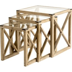 3 Piece Nesting Tables by Cachet Decor