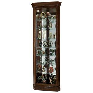 Pranav Corner Curio Cabinet