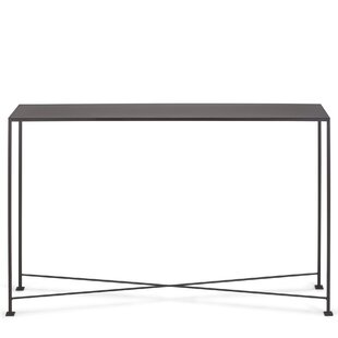 metal console table. diversey metal console table
