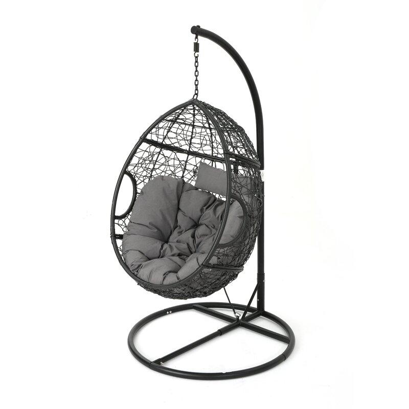 Trent Austin Design Dawson Outdoor Wicker Basket Swing