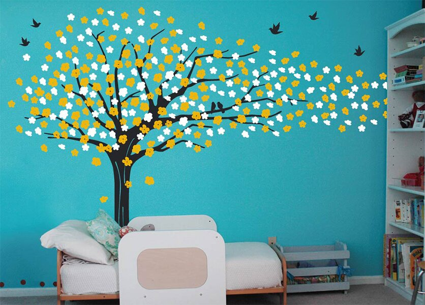 Sakura Tree Wall Decal Part 97