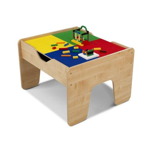 Kidkraft Activity 2 In 1 Kids Square Lego Train Table