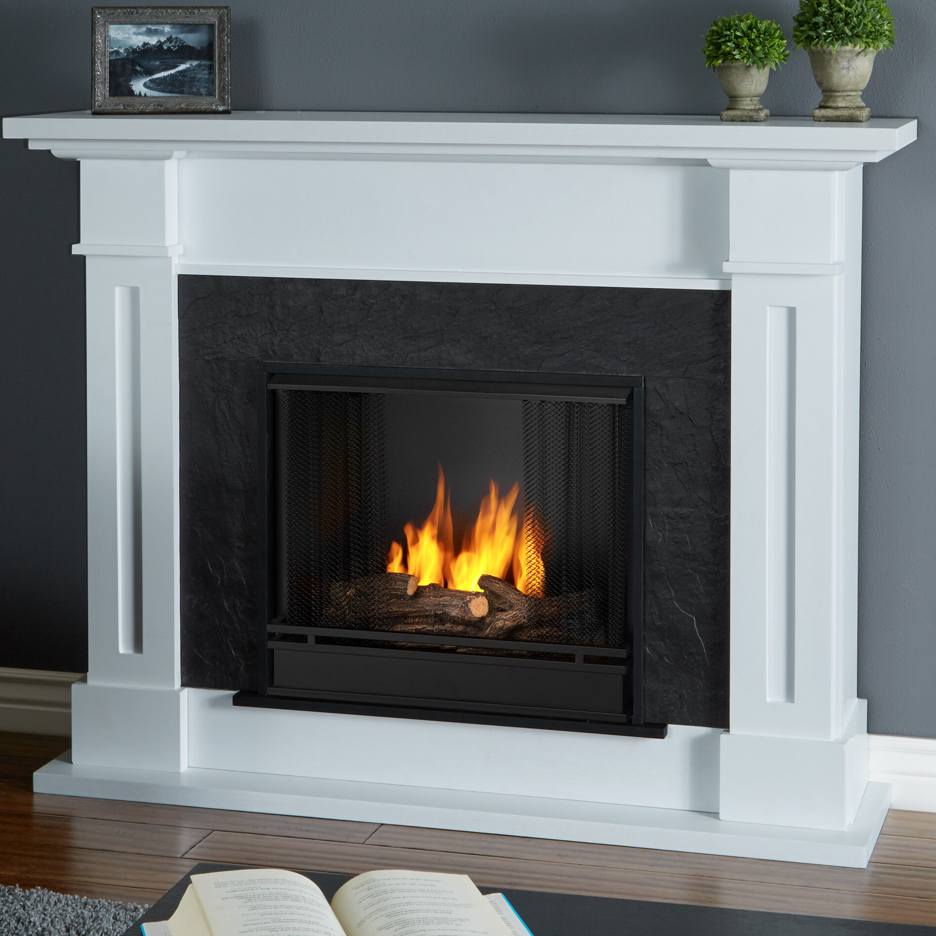 Real flame kipling gel fuel fireplace reviews wayfair solutioingenieria Gallery