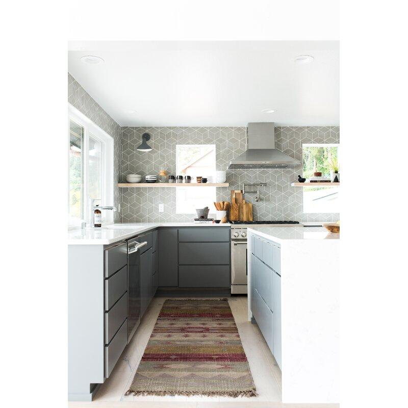 Elitetile Karra 7 X 8 Porcelain Field Tile Reviews Wayfair