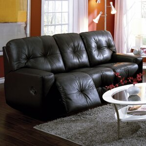 Mystique Leather Reclining Sofa by Palliser Furniture
