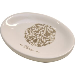 Paris Romance Dolomite Bath Soap Dish