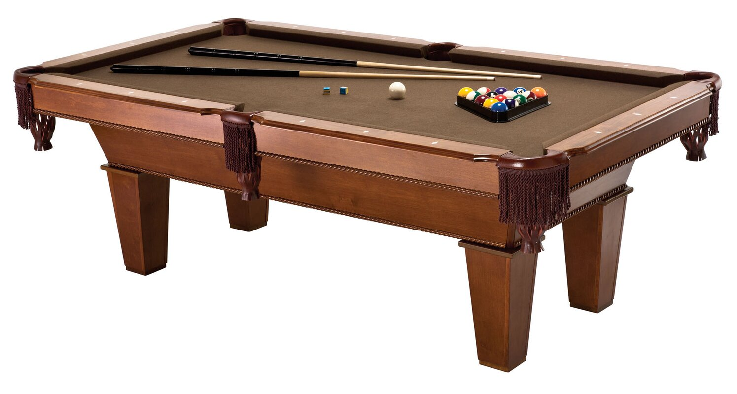 Pool tables youll love wayfair fat cat frisco 7 pool table greentooth Image collections
