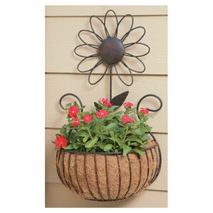 Metal Wall Planter galvanized metal wall planter | wayfair