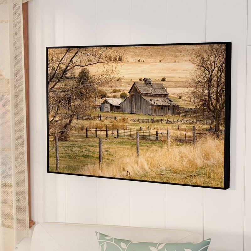 august grove roadside barn framed photographic print on gallery