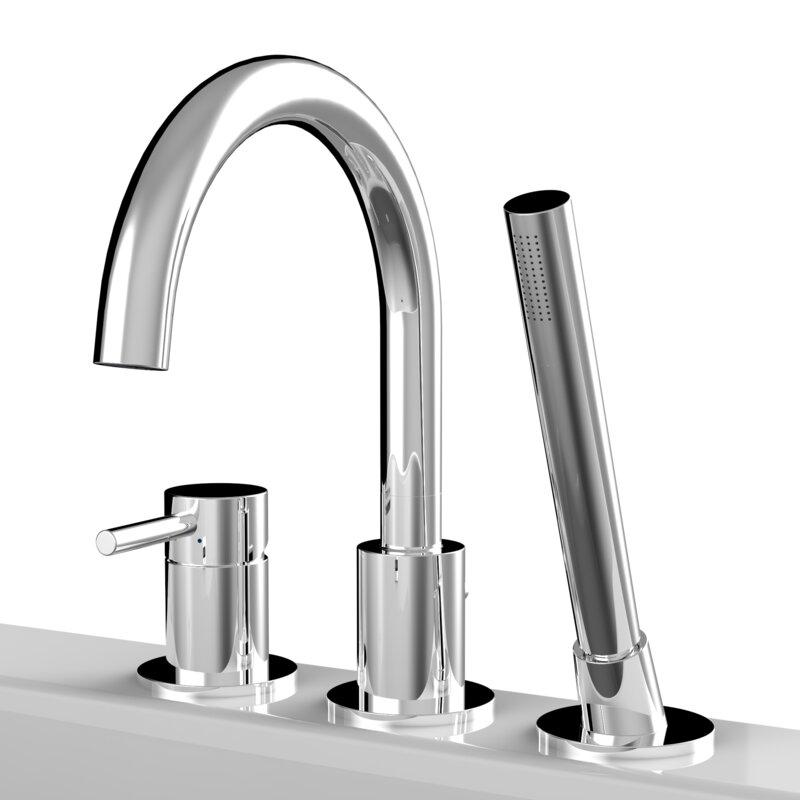 A&E Bath and Shower Single Handle Deck Mounted Bath Faucet