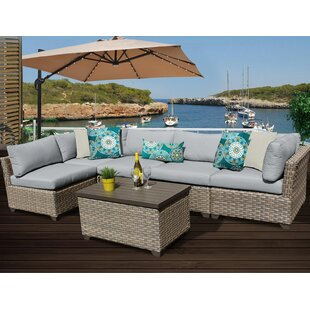Monterey 6 Piece Sectional Set With Cushions