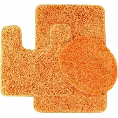 Orange Solid Bath Rugs Amp Mats You Ll Love In 2019 Wayfair