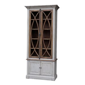 Garrity Vitrine China Cabinet by White x ..