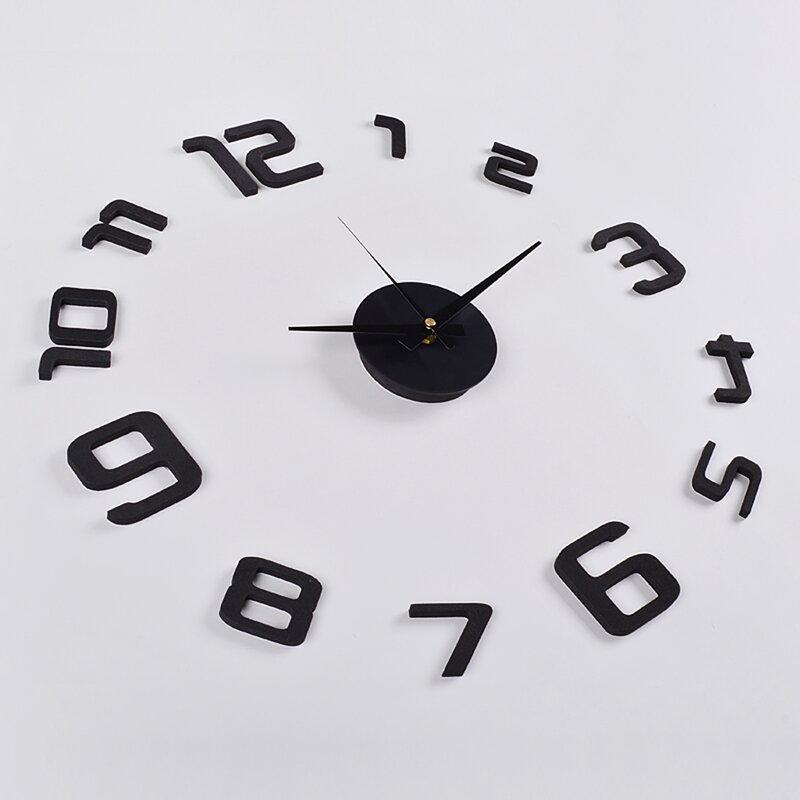 Skelton 3D Frameless Wall Clock