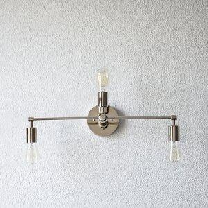 Mid Century 3-Light Vanity Light