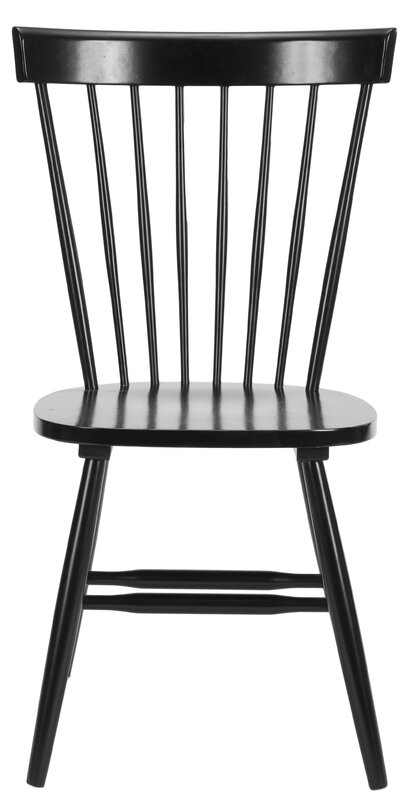 Lark Manor Saint Pierre Solid Wood Dining Chair Amp Reviews