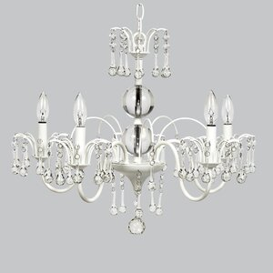 Wistful 5-Light Crystal Chandelier