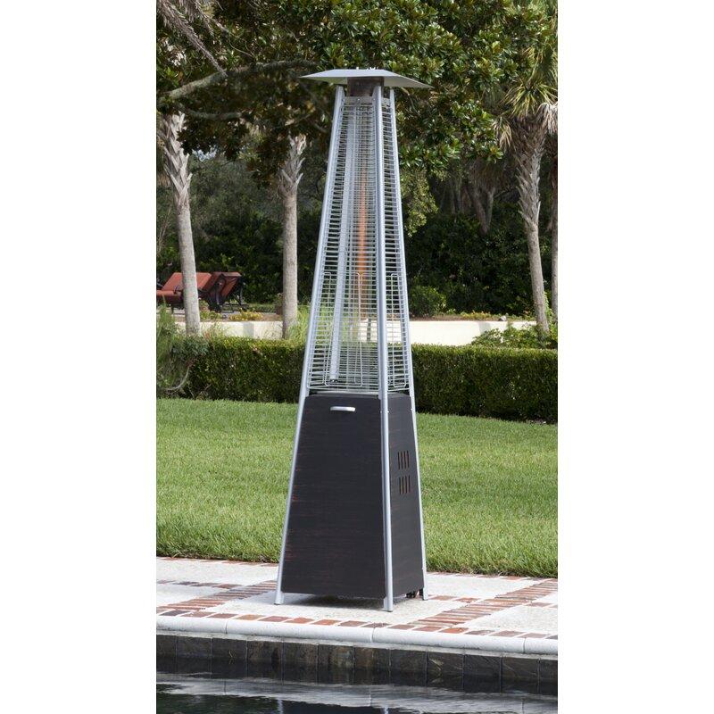 Coronado Pyramid Flame 40,000 BTU Propane Patio Heater