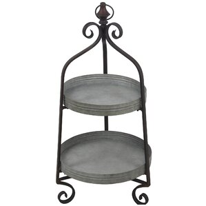 Angello 2 Tier Standard Baker's Rack by Gracie Oaks