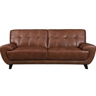 80 Inch Leather Sofa Wayfair