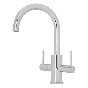 Beau Kitchen Tap Twin Lever Monobloc Tap