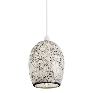 Glass lamp shades wayfair 18cm glass bell pendant shade by endon lighting mozeypictures Gallery