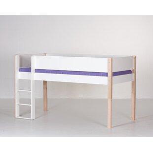 Frej European Single Mid Sleeper Bed by Viv   Rae