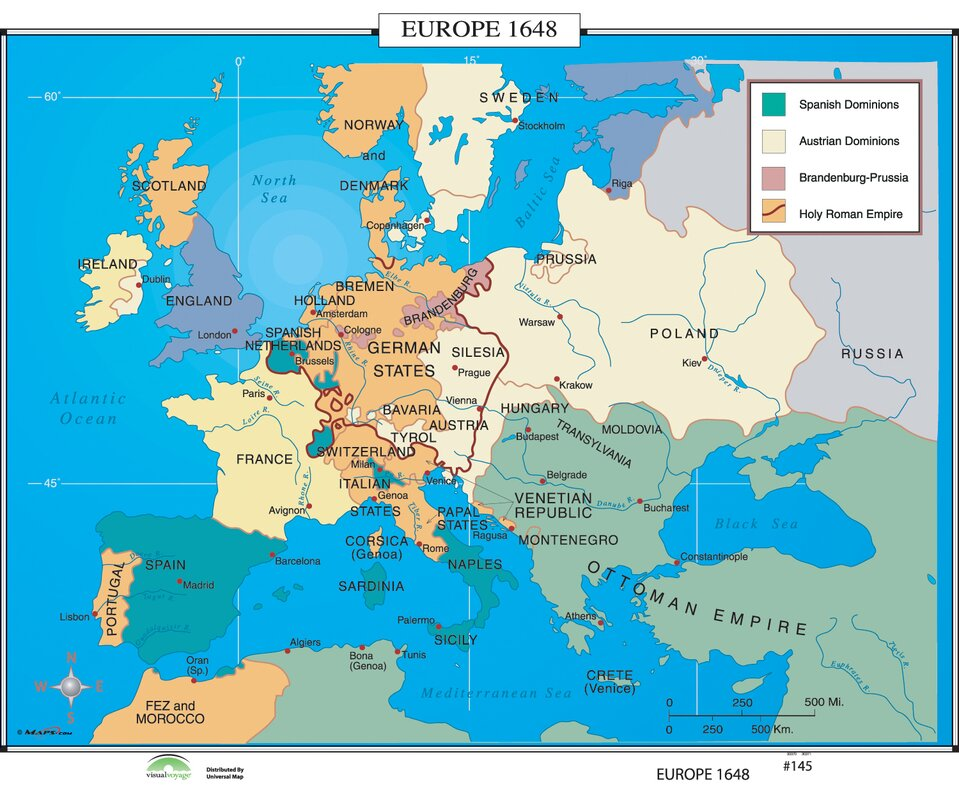 Universal Map World History Wall Maps Europe Reviews - Wall maps of the world