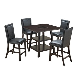 Culligan 5 Piece Counter Height Pub Table Set