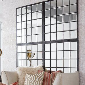 mirrors for living room. Rectangle Antique Black Window Mirror Wall Mirrors