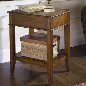 Calderwood Wood End Table by Gracie Oaks