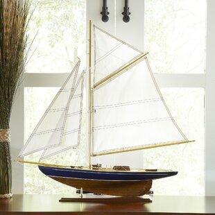Mentone Model Sailboat Decor