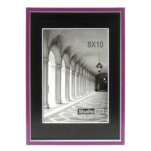 a839372e0c7 Modern Striped Clean Cut Picture Frame