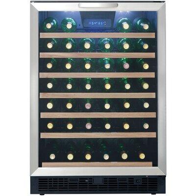 50 bottle single zone convertible wine cooler