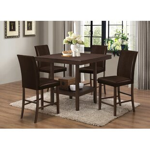 Langton 5 Piece Counter Height Dining Set