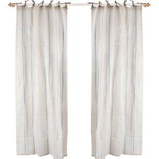 curtains pottery tie top drape cotton drapes with white decor textured perfect barn