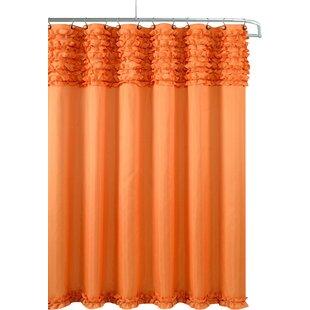 Incroyable Orange Shower Curtains Youu0027ll Love   Wayfair