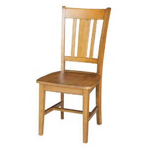 Russell Solid Wood Dining Chair (Set of 2) by Loon Peak