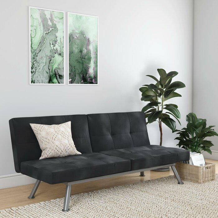 Strange Gaware Twin Or Smaller Biscuit Back Convertible Sofa Forskolin Free Trial Chair Design Images Forskolin Free Trialorg