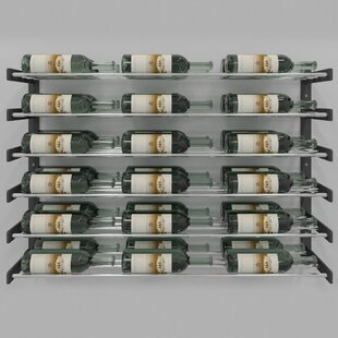 Evolution Series 36 Bottle Wall Mounted Wine Rack
