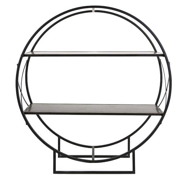 Round Metal Floor Shelf