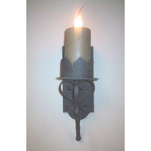 Gothic sconces wayfair gothic electrified 1 light wallchiere aloadofball Gallery
